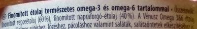 Vénusz Omega 3&6 - Ingrédients - hu