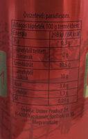 Sűrített paradicsom - Informations nutritionnelles - hu