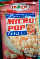 Micro pop kokice chili - Производ