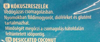 Kókuszreszelék - Ingredients - hu