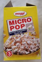 Popcorn burro - Produit - hu