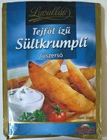 Tejfől ízű sültkrumpli fűszersó - Produit - hu