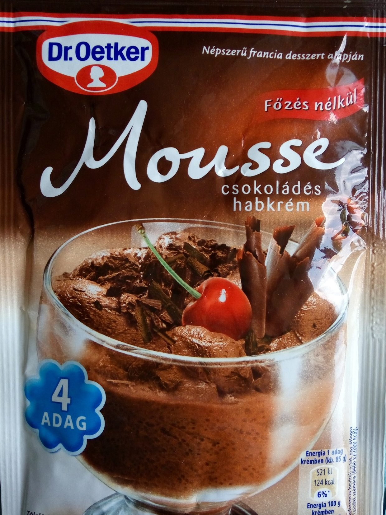 Čokoladni mus - Product