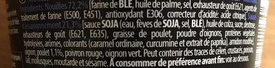 Soba chicken - Ingrédients - fr