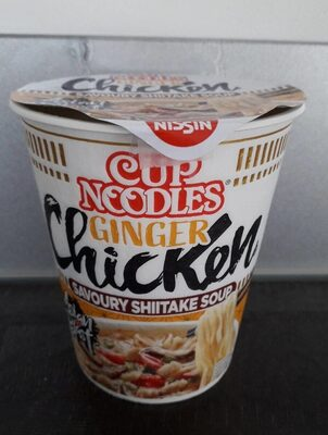 Cup noodles ginger Chicken - Produit