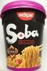 Nouilles Soba Thai Avec Sauce Yakisoba NISSIN 88G - Produit