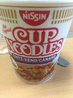 Cup Noodles au canard - Product