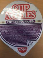 Cup Noodles au canard - Ingrediënten