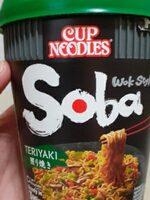 Teriyaki Cup Noodles Soba Wok Style - Produit - fr