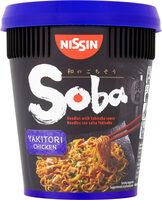 Soba Yakitori Chicken Noodles with Yakisoba Sauce - Produit - fr