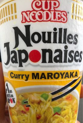 Nouilles japonaises curry 'maroyaka' - Produit - fr