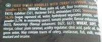 Nouilles sautées curry - Ingredients - en