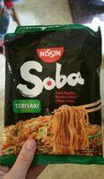Nissin Soba PKT Teriyaki Noodles - Produit - fr