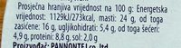 Good cheese - Informations nutritionnelles - sr