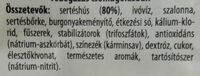 Classic Koktél Virsli - Ingredients - hu