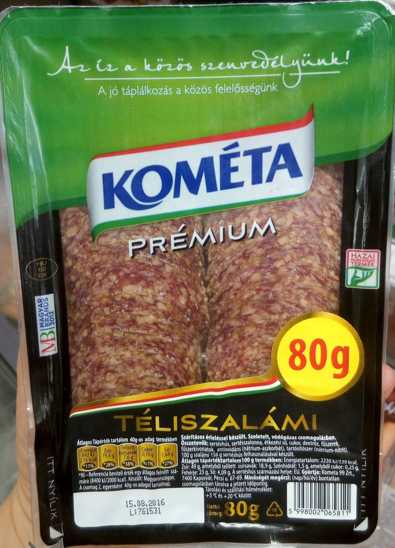 Prémium Téliszalámi - Produit - hu