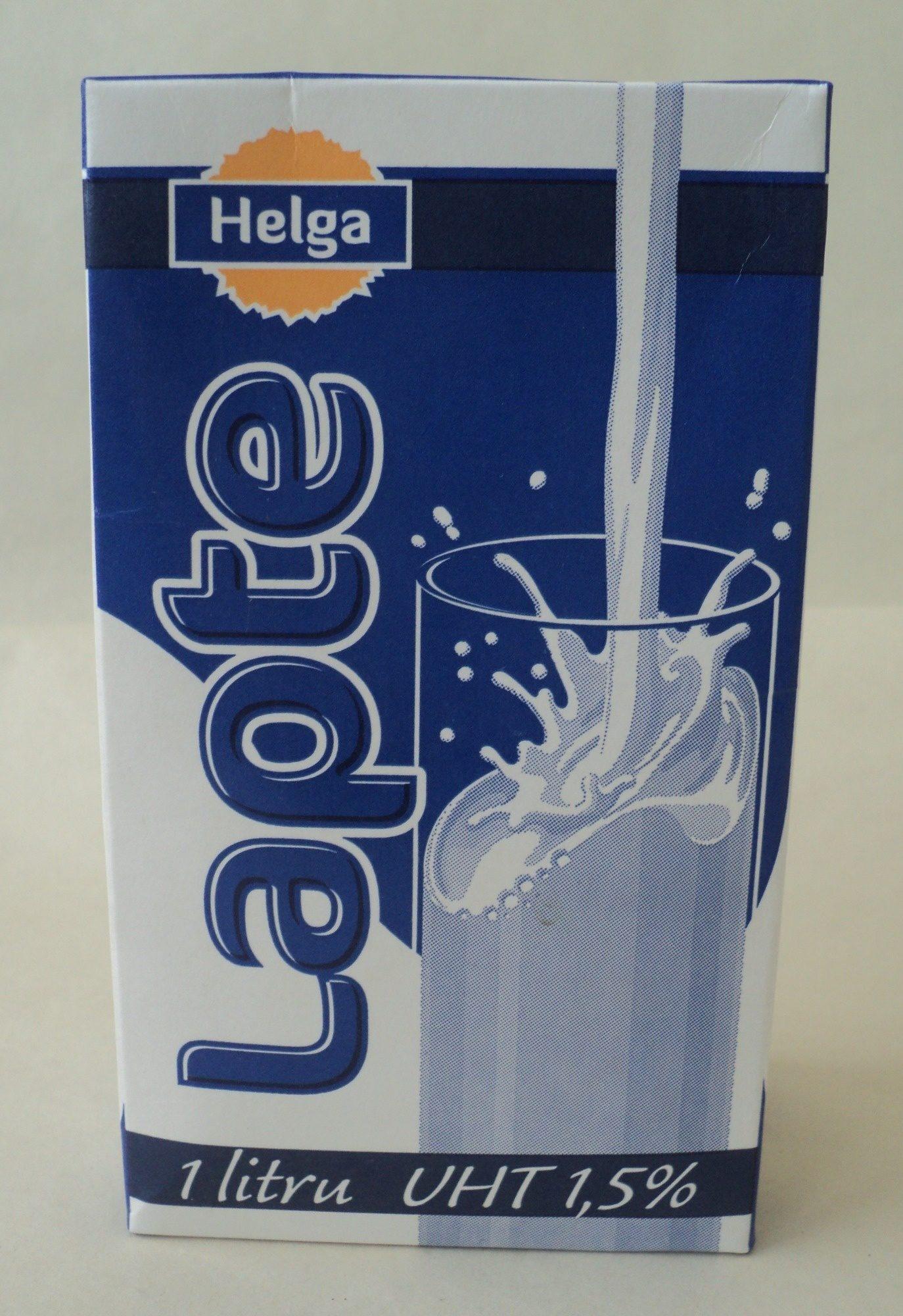 Helga Lapte UHT 1,5% - Product