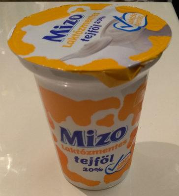 Laktózmentes tejföl 20% - Produit - hu