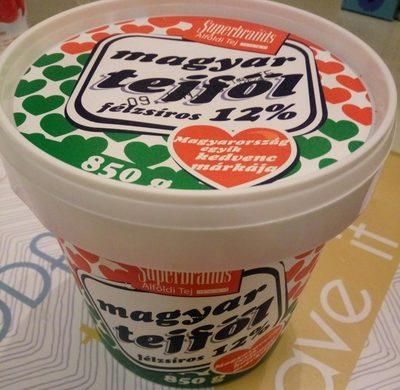 Magyar tejfől 12% - Produit - hu