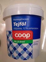 Tejföl 12% - Produit - hu