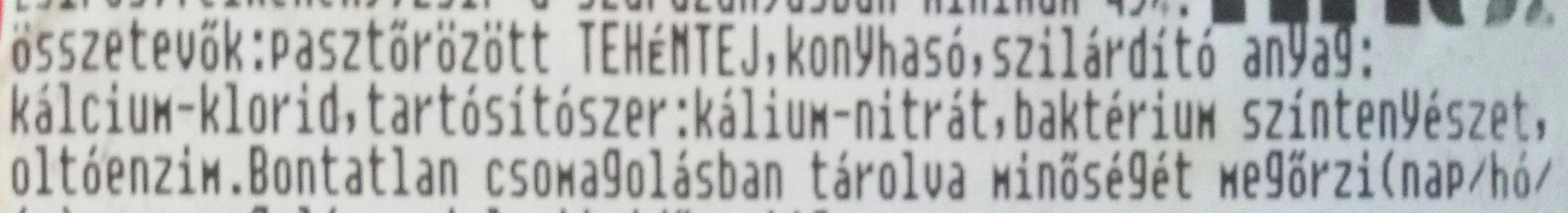 Fino Mini Trappista natúr - Ingrédients - hu