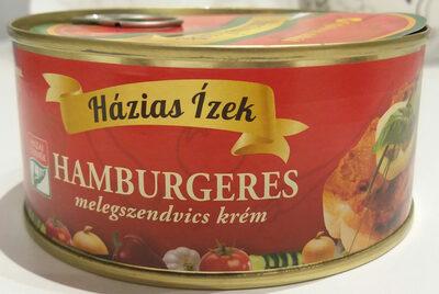 Hamburgeres melegszendvics krém - Product - hu