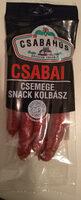 Csemege Snack kolbász - Produit - hu