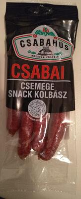Csemege Snack kolbász - Product