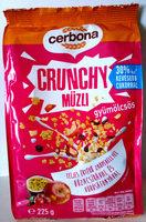 Cerbona Crunchy ropogós gyümölcsös müzli - Produit - hu