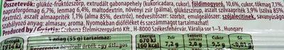 Magvas-gyümölcsös müzliszelet - Ingredients - hu