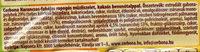 Cerbona Narancsos-fahéjas ropogós müzliszelet - Ingrédients - hu