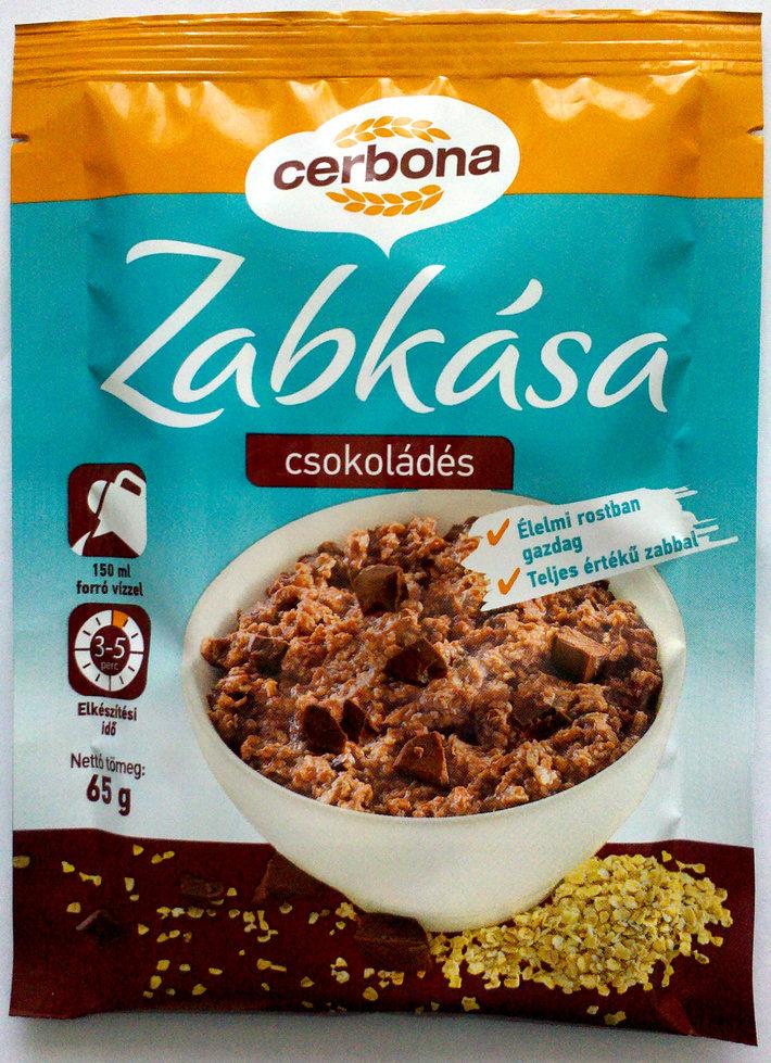 Cerbona Csokoládés zabkása - Product - en
