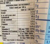 Nesquik - Informations nutritionnelles - hu
