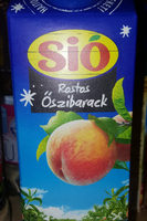 Sio rostos őszibarack ital - Product - hu