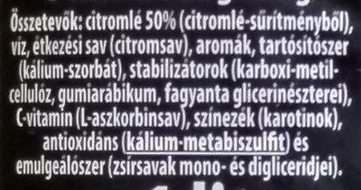 Citrom 50% - Ingrédients - hu