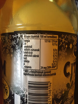 Citrom 50% - Informations nutritionnelles - hu