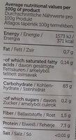 Rice porridge - Informations nutritionnelles - en