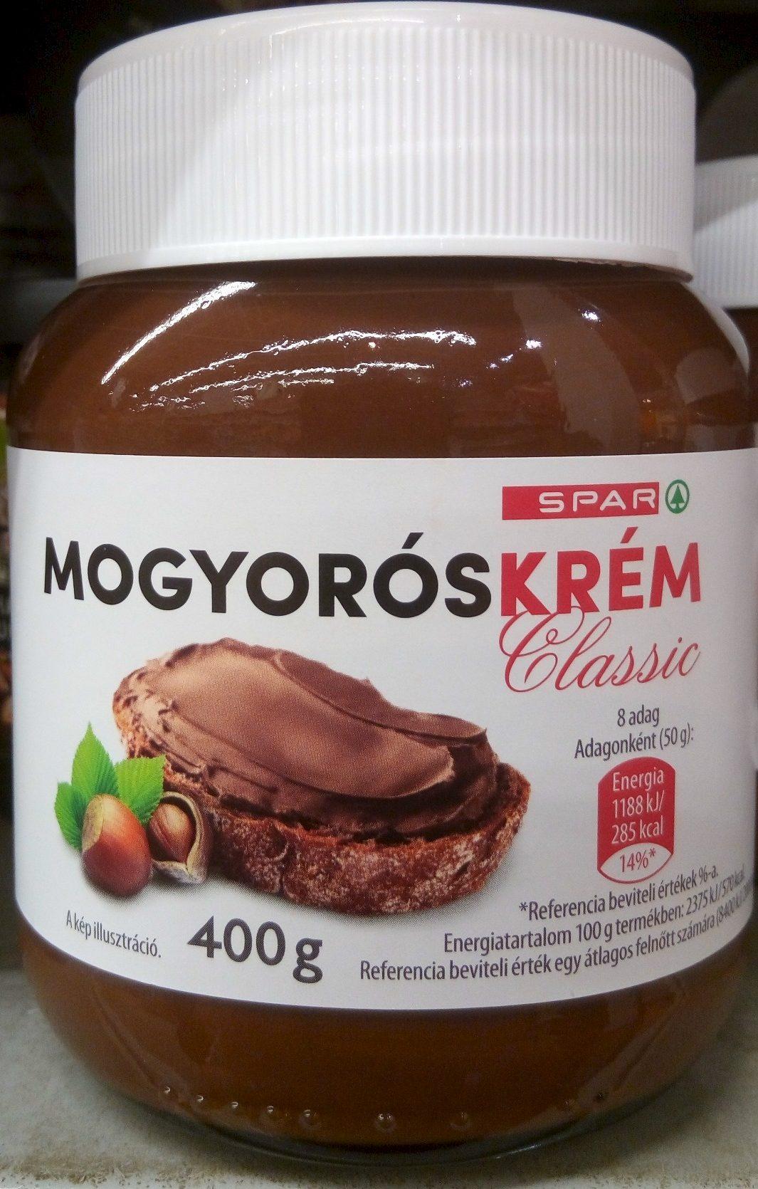 Mogyorós krém Classic - Produit