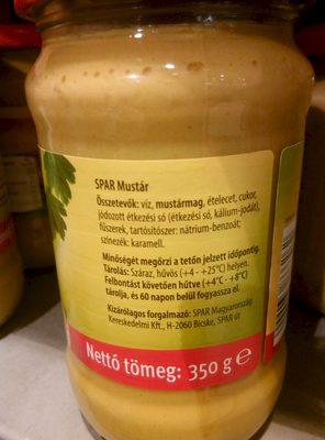 Mustár - Produit
