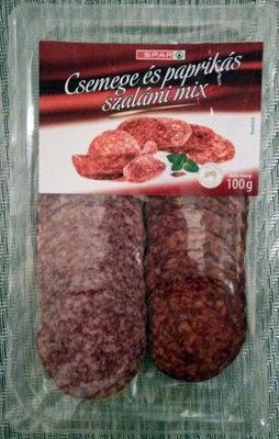 Csemege és paprika szalámi mix - Produit - hu