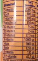 Multivitamin - Nutrition facts - hu