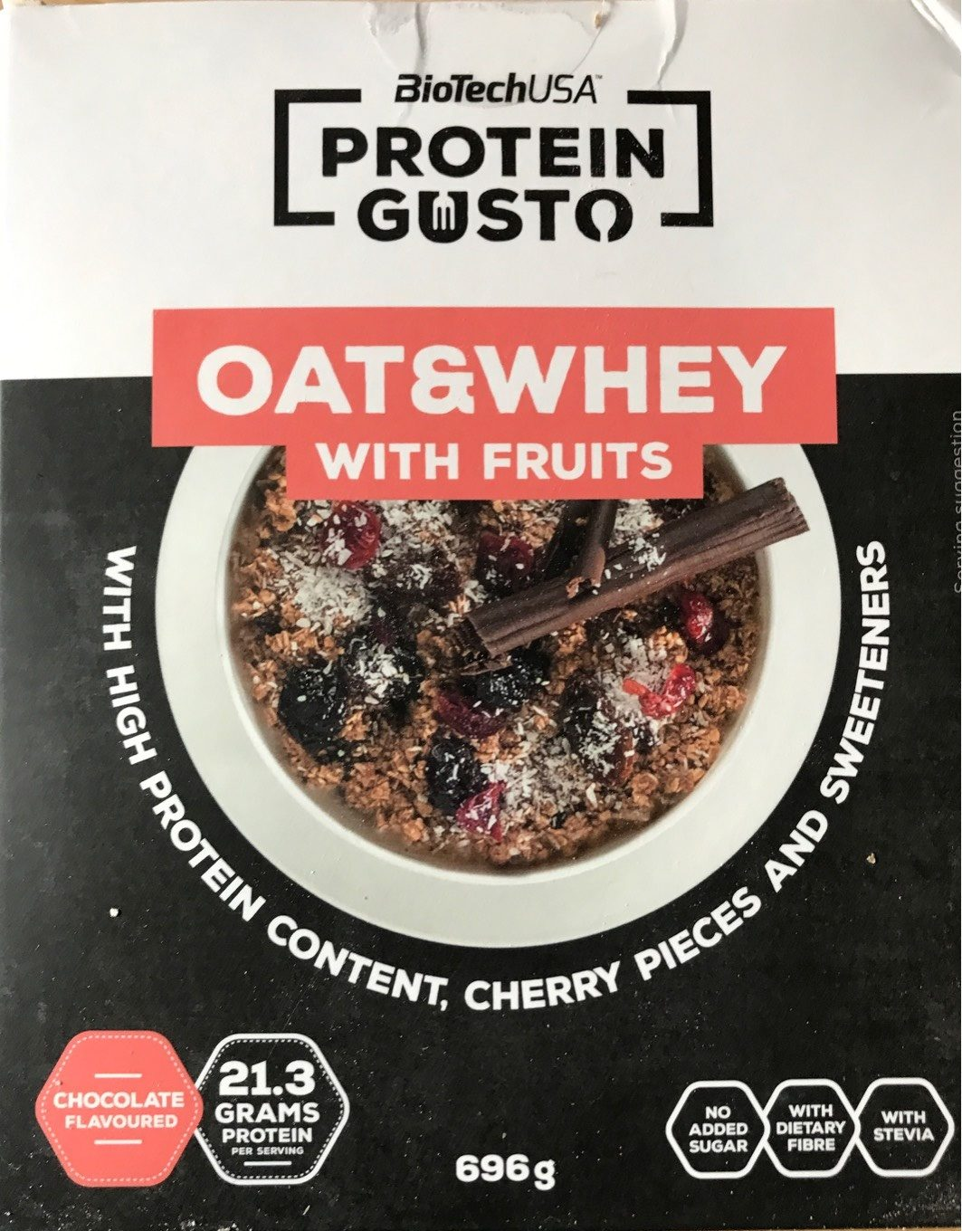 Oat&whey with fruits - Product