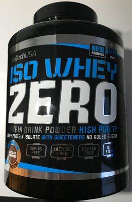 Iso Whey Zéro - Produit