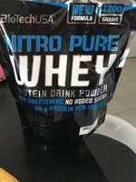 Nitro pure whey - Product - fr