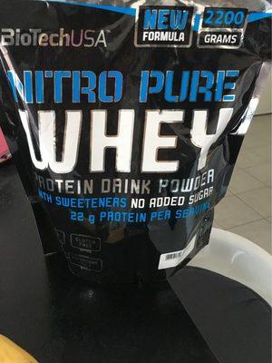 Nitro pure whey - Produit