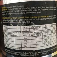 Biotech USA 12031020400 BCAA Flash Zero Acide Aminé Saveur Pomme - Informations nutritionnelles