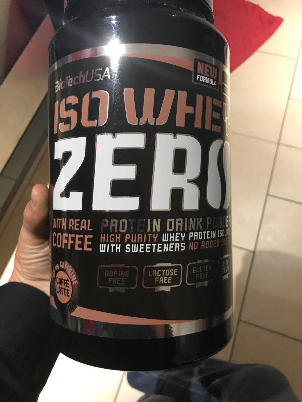 Iso Whey Zero (caffe Latte) - Produit