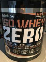 Iso Whey Zero Coffee - Produit