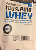 100% pure Whey - Produit