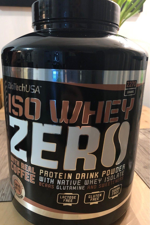 Iso Whey Zero, Caffe Latte - Product - fr